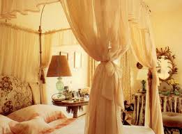 canopy bed curtains ideas in imposing canopy bed curtains lights