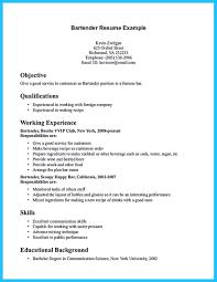 bartender resume exles resume help resume writing advice mixologist resume student