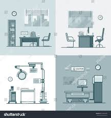 medical clinic floor plans hospital clinic medical medicine dispensary lab stock vector