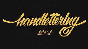 hand lettering tutorial for beginners youtube