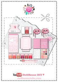 miniature cosmetics tutorials u2013 dollhouse diy