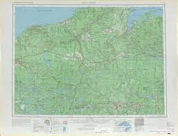 Map Of Wisconsin And Michigan by Iron River Topographic Maps Mi Wi Usgs Topo Quad 46088a1 At 1