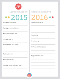 new year s resolutions books free printable family new year s resolutions year in review