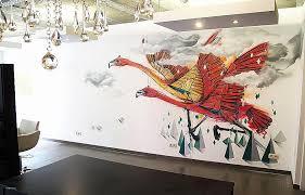 fresque chambre fille fresque murale chambre fille beautiful fresque murale moderne