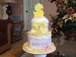 rubber ducky baby shower cake girl rubber ducky cake pink and yellow rubber ducky