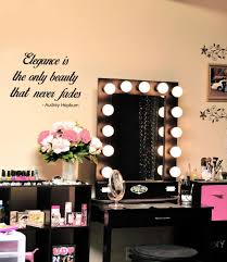 elegance is the only beauty that never fades vinyl decal