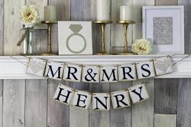 mr and mrs wedding signs mr and mrs sign mr and mrs banner mr and mrs wedding sign