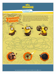 minions free printable activities coloring pages showing