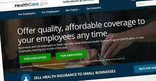 obamacare enrollment for small business on healthcare gov could end