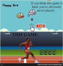 Qwop Meme - pfft flappy bird qwop by theasianguy meme center