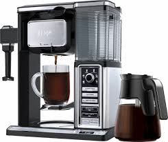 ninja coffee maker black friday ninja coffee bar 10 cup carafe system cf091 w in built frother