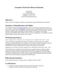 Technical Resume Example by Technical Resume Examples Free Resume Example And Writing Download