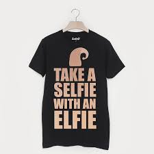 take a selfie with an elfie unisex christmas t shirt by batch1