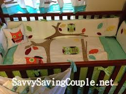 Owls Crib Bedding Beyond Bedding Turquoise And Lime Hooty Owl Baby Bedding 9