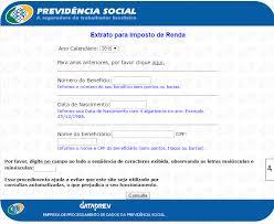 demonstrativo imposto de renda 2015 do banco do brasil extrato inss para imposto de renda 2019 emissão aqui