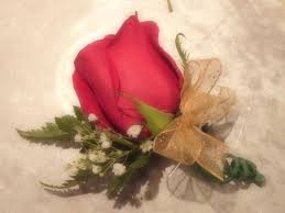 Red Rose Boutonniere How To Make A Rose Boutonniere 6 Steps