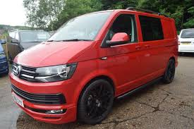 volkswagen van 2015 vw transporter 2015 cherry red kombi 140 lv sportline pack youtube