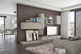 Modern Living Room Wall Units With Storage Inspiration - Living room cabinet design
