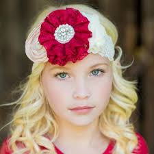 flower headbands flower headbands think pink bows