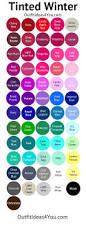 best 25 winter color palettes ideas on pinterest winter colors