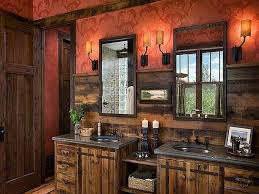 rustic bathrooms ideas western cross bathroom decor unique hardscape design realizing