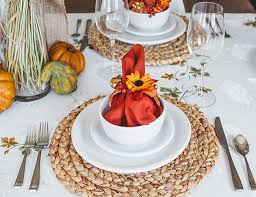3 fresh ways to style an inviting thanksgiving table above