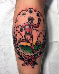90 soccer tattoos for sporting ink design ideas calf