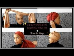 video tutorial turban style easy hijab styles for everyday life youtube amasing pinterest
