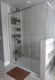 glass shower door splash guard heavy glass shower door best shower