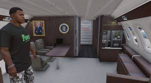 air force one interior gta 5 air force one boeing vc 25a enterable interior add on mod