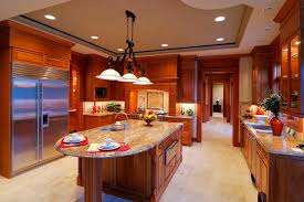 modern country kitchen with oak cabinets quartz countertops colors that go best with oak cabinets