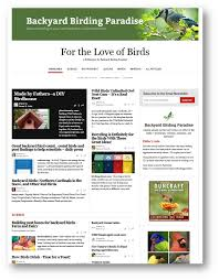 Backyard Birding Magazine For The Love Of Birds Magazine Backyard Birding Paradise