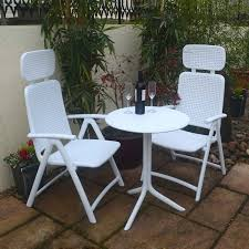 White Resin Outdoor Furniture by White Resin Garden Furniture