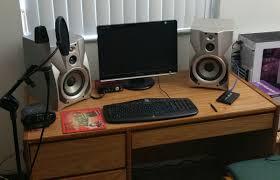 small music studio music workstation desk ikea creative desk decoration