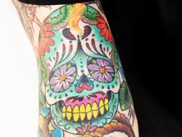 day of the dead tattoo meaning and history