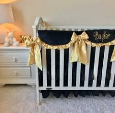 Black And Gold Crib Bedding Black And White Chevron Stripe Vintage Inspired Sun Suit Romper