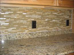 kitchen stick on backsplash tiles backsplash behind stove white