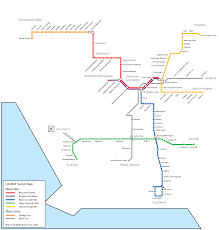 Portland Public Transportation Map by La Metro Line Map Maps And Places Pinterest La Metro Los