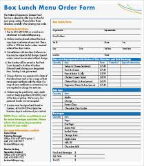 order form templates 9 free pdf documents download free