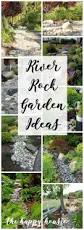 garden ideas best 25 river rock landscaping ideas on pinterest diy