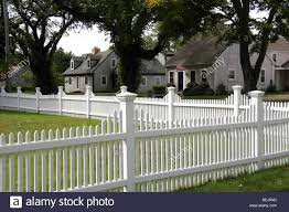 download this stock image white picket fence and cape cod homes