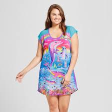 women u0027s plus size lisa frank sleep shirt target