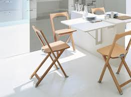 Folding Dining Chairs Olivia Modern Solid Wood Folding Dining Chair By Calligaris