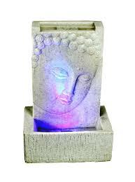Buddha Deko Wohnzimmer Brunnen Buddha Zimmerbrunnen Mit Led Wohnung Entspannung