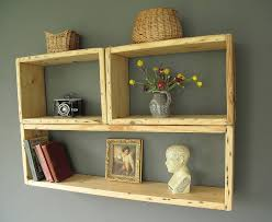 reclaimed antique wood shelving units by seagirl and magpie