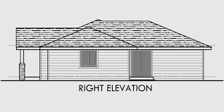 single story duplex house plan corner lot duplex house plan d497
