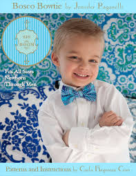 it s bosco bowtie time complimentary pattern to right