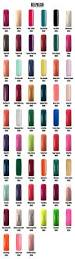 colour chart magnetic nail academy