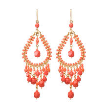 Adaku Beaded Red Coral Chandelier Coral Beaded Chandelier Pictures To Pin On Pinterest Pinsdaddy
