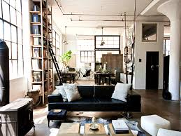 Loft Style Living Room Apartments Beauteous Industrial Design Living Room Small Open